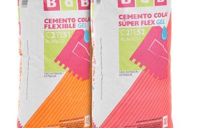 BdB lanza sus nuevos cementos cola gel que ahorran tiempo y esfuerzo